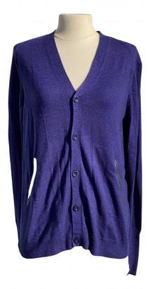 Marithé + François Girbaud Marithe & Francois Purple Wool Knitwear & Sweatshirts