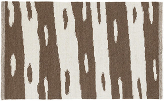 Dash & Albert Bunny Williams For Briar Handwoven Rug - Camel - camel/ivory