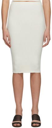 giu giu Off-White Nonna Tube Skirt