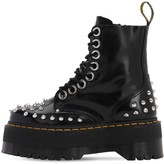 Dr. Martens 60mm Studded Brushed Leather Boots