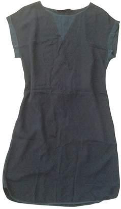 Gerard Darel Blue Silk Dress for Women