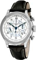 Baume & Mercier Baume Mercier Men's Capeland Chronograph Silver Chronograph Dial Watch A10006