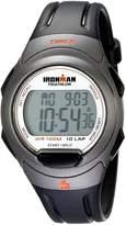 Timex Men's T5K607 Ironman Essential 10 Full-Size Resin Strap Watch