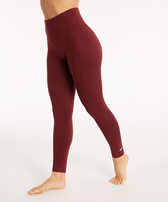 "Marika Women's Active Pants TAWNY - Tawny Port High-Rise Tummy-Control 27"" Leggings - Women"