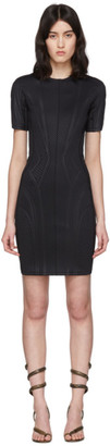 Thierry Mugler Black Scuba Dress