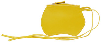 Little Liffner Yellow Mini Pebble Pouch