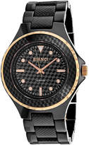 Roberto Bianci Womens Black Bracelet Watch-Rb2800