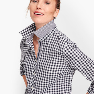Talbots Classic Cotton Shirt - Gingham