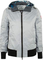 Canada Goose Dore Hooded Shell Down Jacket - Gray