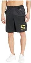 Champion College Iowa Hawkeyes Classic Mesh Shorts (Black) Men's Shorts