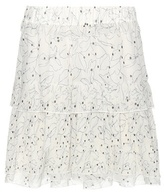 See by Chloe Printed chiffon skirt
