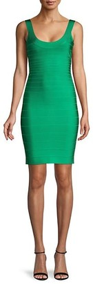 Herve Leger Signature Essentials Bodyon Bandage Dress