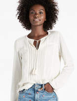 Lucky Brand Woven Drop Needle Peasant