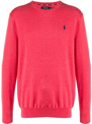 Polo Ralph Lauren Embroidered Logo Crew-Neck Pullover