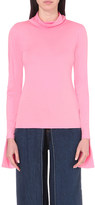 Aalto Turtleneck cotton-jersey top