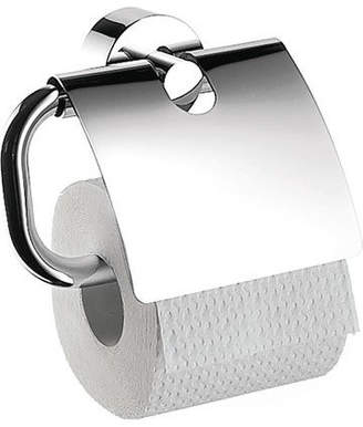 "Hansgrohe Axor 4-1/2"" Wall Mount Toilet Tissue Holder, Polished Chrome"