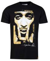 Replay Outline Gold Print T-shirt Colour: BLACK, Size: SMALL