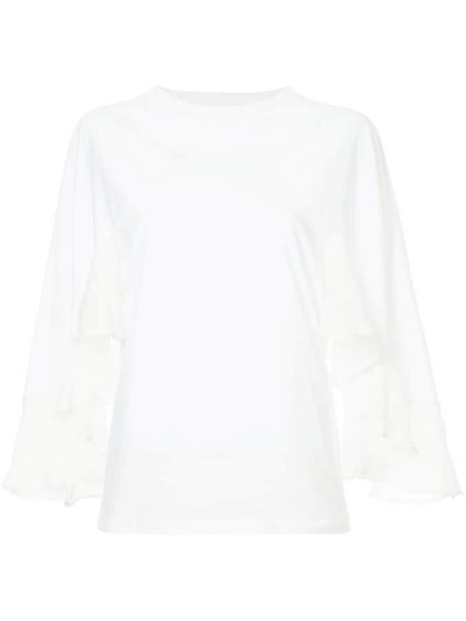 Chloé ruffle sleeve blouse