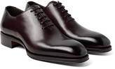 Tom Ford Gianni Burnished-leather Oxford Shoes