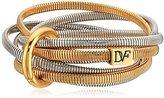 Diane von Furstenberg Gemma Multi-Skinny Stacked Two-Tone Bracelet