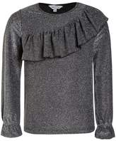 Outfit Kids FRILL YOKE Long sleeved top silver