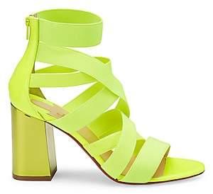Christian Louboutin Women's Gladiapop Strappy Block-Heel Sandals