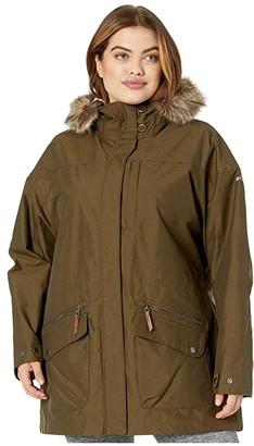 Columbia Plus Size Carson Pass IC Jacket (Black) Women's Coat