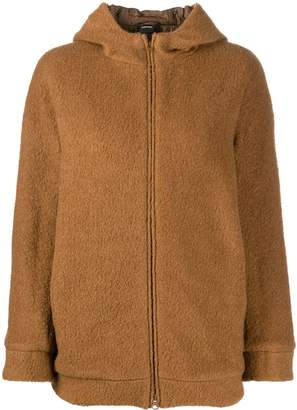 Aspesi knitted hooded jacket