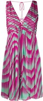 Just Cavalli tie-dye shift mini dress