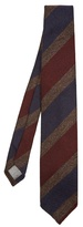 Dunhill Striped wool tie