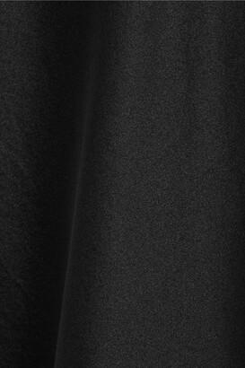 Anine Bing Bar Silk-satin Midi Skirt - Black