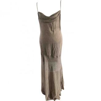 Jean Louis Scherrer Jean-louis Scherrer Grey Silk Dress for Women Vintage
