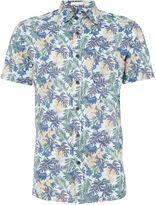Howick Artemisa Floral Print Short Sleeve Shirt
