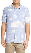 Tommy Bahama Men's Big & Tall Bon Voyage Isle Silk Shirt