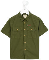 Bellerose Kids - shortsleeved shirt - kids - Cotton - 4 yrs