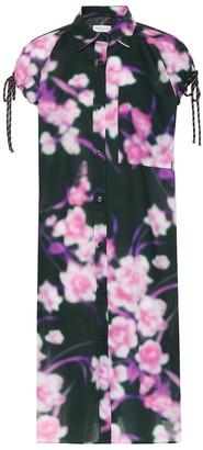 Dries Van Noten Floral-printed cotton dress