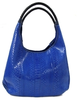 Carlos Falchi - Blue Python Hobo Bag