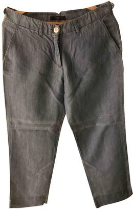 Max Mara Weekend Blue Denim - Jeans Trousers for Women
