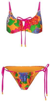 Zimmermann Riders floral bikini