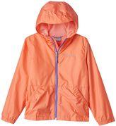 Columbia Girls 4-18 Lightweight Solid Rain Jacket