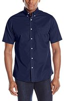 Dockers Solid Woven Short-Sleeve Shirt