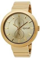 Rip Curl Women's A2718G - GOL FUTURIST - GOLD Analog Display Quartz Gold Watch