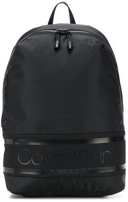 Calvin Klein Contrasting Logo Backpack