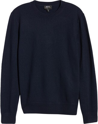 A.P.C. Merino Wool Crewneck Sweater
