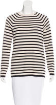 Equipment Wool-Blend Striped Sweater