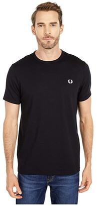 Fred Perry Ringer T-Shirt (White) Men's T Shirt