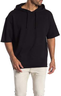 BOSS Dalmond Short Sleeve Pullover Hoodie