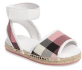 Burberry Toddler Girl's Livvy Ankle Strap Sandal