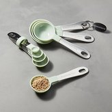 Crate & Barrel Pistachio Measuring Spoons, Set of 8