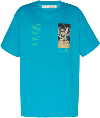 Off-White Pascal Painting Cotton T-Shirt